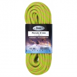 BEAL lano RANDO 8mm MOUNTAIN LINE