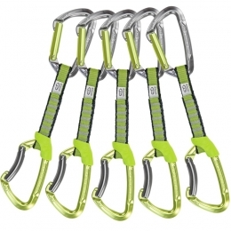 Climbing Technology LIME SET NY - 5x express set