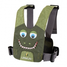 LittleLife vodící kšíry SAFETY HARNESS CROCODILE