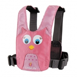 LittleLife vodící kšíry SAFETY HARNESS OWL