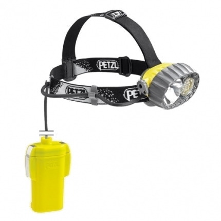 PETZL čelovka DUOBELT LED 14 Yellow