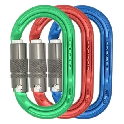 DMM karabina Ultra O Oval Locksafe Colour Pack